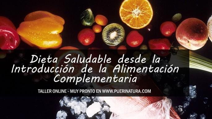 cartel-dieta-saludable-desde-la-introduccion-de-la-alimentacion-online